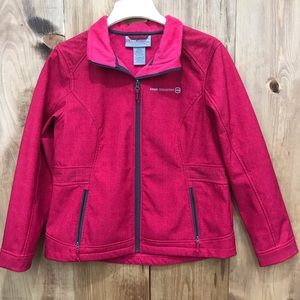 Free country warm pink coat
